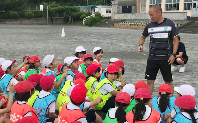CSR活動報告:2020年度ご報告  / 湘南ベルマーレ オフィシャルパートナー(小学校体育巡回授業サポート)